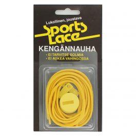 Sports Lace keltainen litteä elastinen